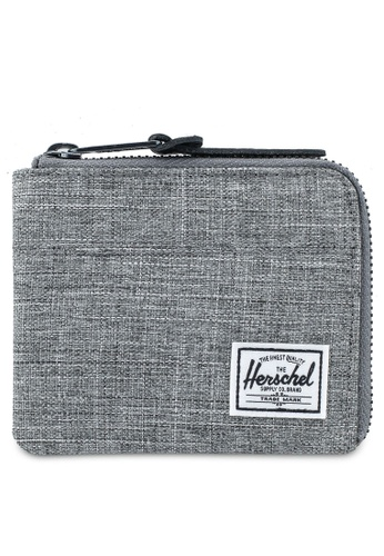 Herschel grey Johnny RFID Wallet 8EA61AC810ADECGS_1