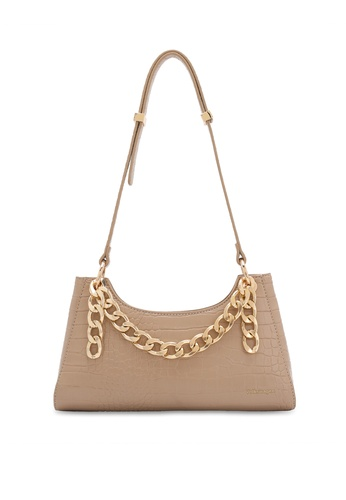 Volkswagen brown Faux Leather Handbag 6B81BACF9ED4E7GS_1