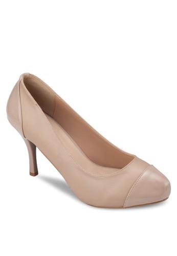 圓頭厚底高跟鞋zalora 台灣, 女鞋, 厚底高跟鞋