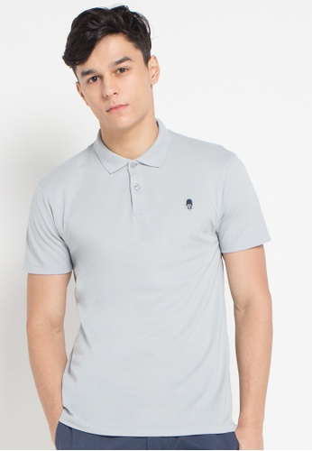Skelly grey Skelly Original Guardian Polo MMIX SK616AA0SEMHMY_1