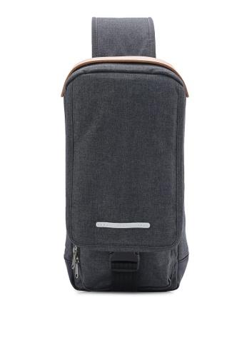 Rawrow black Wax Haze 300 Chest Bag RA312AC29HGKMY_1