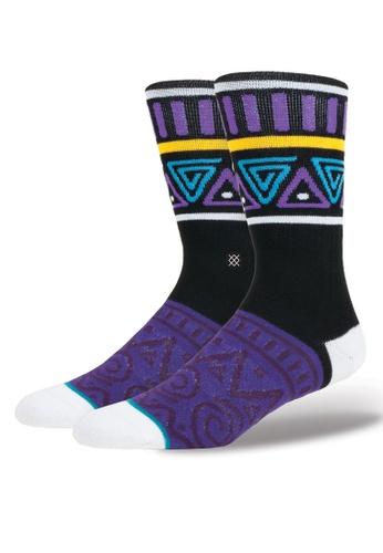 Stance purple and multi Major Socks ST488AA49OPAMY_1