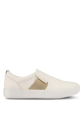 Keddo white Slip Ons With Elastic F9FCDSHC202D4BGS_1
