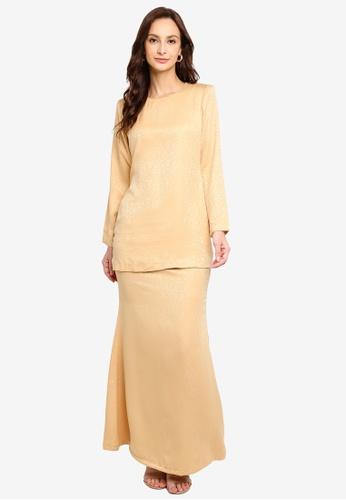 Butik Sireh Pinang yellow Kurung Moden Laura 32666AAC602504GS_1
