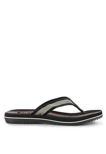 CARVIL black and multi Sandal Sponge Man Gilgas ECFB6SHC90647BGS_1