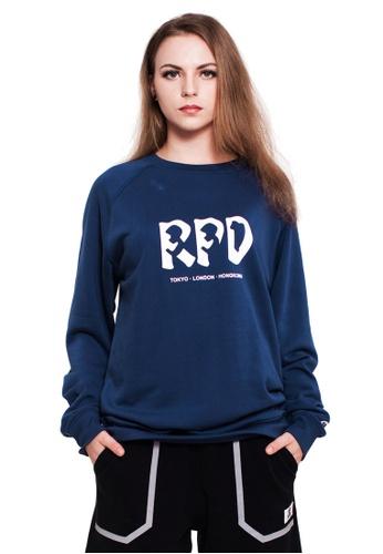 Reoparudo navy RPD Reflective 331 Edition Sweatshirt (Navy Blue) DD121AAE3FE4FFGS_1
