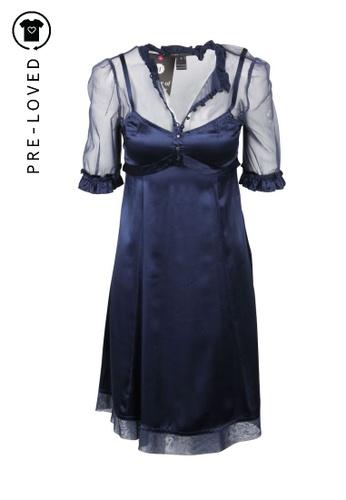 Marc Jacobs blue Pre-Loved marc jacobs Marc Jacobs Silk Blue Dress ADF26AAF19269EGS_1
