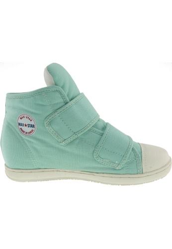 Maxstar green Maxstar Women's 203 Dual Velcro Hidden Heel Canvas Casual Shoes US Women Size MA164SH54PWBSG_1