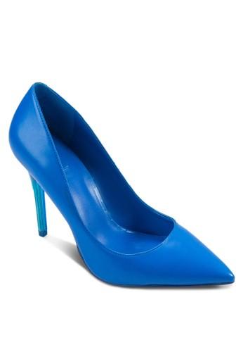 Nzalora開箱ika 簡約尖頭高跟鞋, 女鞋, 厚底高跟鞋