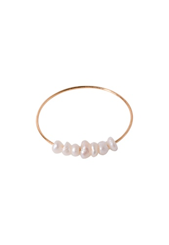 SKEDA gold Lillia Pearl Ring 4BB37ACE4B8A4BGS_1