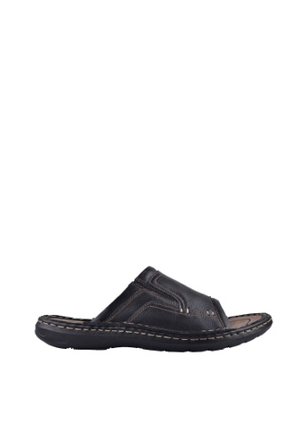 Hush Puppies black Hush Puppies GOLLAF 2 In  Black CC565SH8405F6DGS_1