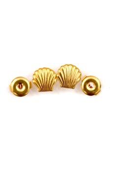 14K Gold Filled Shell Earrings