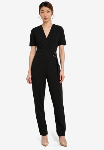 Buy Dorothy Perkins D Ring Belt Wrap Jumpsuit line on ZALORA