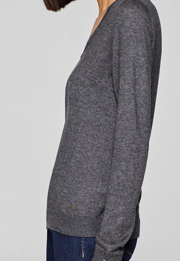 ESPRIT Long Sleeve Long Grey Sleeve ESPRIT Grey ESPRIT Cardigan Cardigan Sleeve Grey Long Cardigan rr1xAwdq