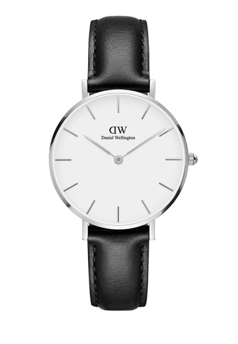 Daniel Wellington silver Petite Sheffield 32mm Silver White Watch 70E36ACE8EFC5FGS_1