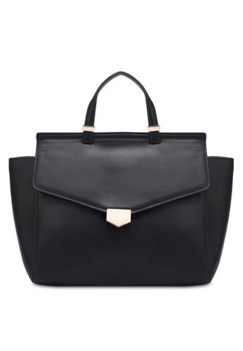Mango black Buckle Tote Bag MA193AC0RZ0MMY_1