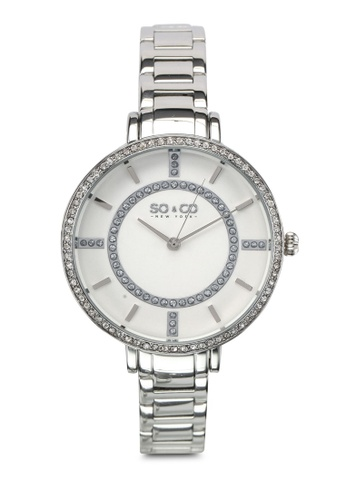 SO&CO silver Studio Watch 5066 SO540AC0SHMUMY_1