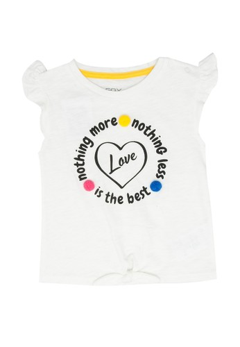 FOX Kids & Baby white Print Tank Top 13093KA87E1091GS_1