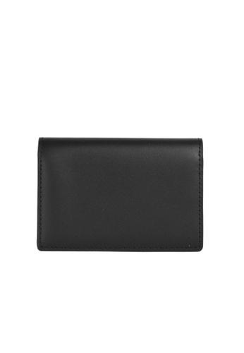 Faire Leather Co. black Specter VT Business Cardholder (Black) - Leather Accessories D04BFACE1593C4GS_1