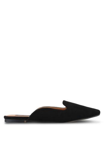 ZALORA black Pointed Mules 3E186SHF4C4635GS_1