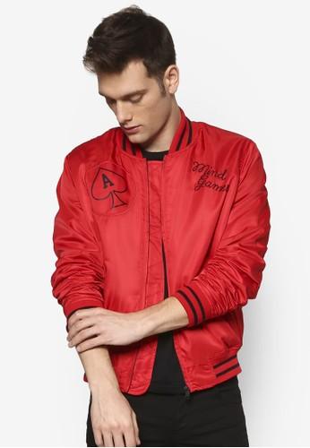 AAA 圖文設計棒球外套, 服飾esprit 台北, 服飾