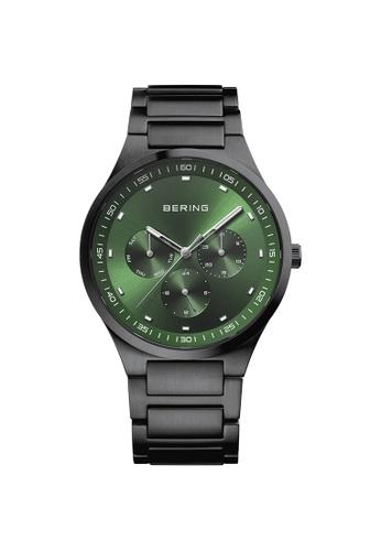 Bering black Bering Classic Green Men's Watch (11740-728) C8F0AAC5974CC0GS_1