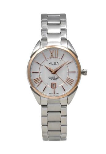 Alba silver ALBA Jam Tangan Wanita - Silver Rosegold - Stainless Steel - AH7H60 43772AC9F36F84GS_1