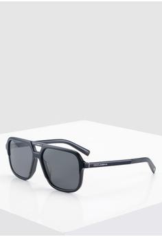 5ee7da9bbf49 Dolce & Gabbana black Dolce & Gabbana DG4354F Sunglasses 67BEBGLBBFAA5EGS_1