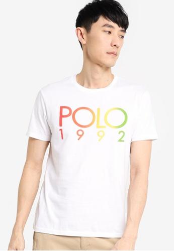 Polo Ralph Lauren white Logo Short Sleeve T-Shirt 47300AAF092E01GS_1