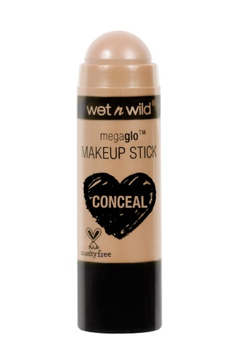 Wet N Wild beige Wet N Wild MegaGlo Makeup Stick Concealer - Follow Your Bisque A9B09BED016E8DGS_1