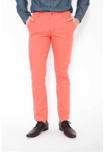 Dockers orange Dockers Alpha Slim Pants Tiger Lily C0086AA516A032GS_1