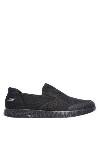 Skechers black On-The-Go Glide-Response Slip Ons 855A9SHCF0AAEDGS_1