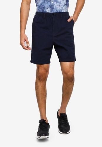 GAP navy Seersucker Easy Shorts 93831AAE789C84GS_1