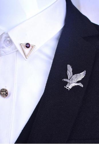cf91ed1ba55 Buy Splice Cufflinks Gold Eagle Lapel Pin Online on ZALORA Singapore