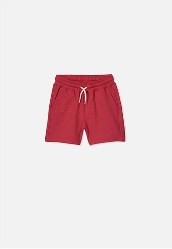 Cotton On Kids red Henry Slouch Short 03827KA3CC0A37GS_1