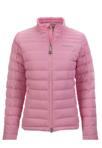 ARCTICA pink WOMEN'S FEATHERLYTE DOWN PACKET 6F159AAEBAE327GS_1