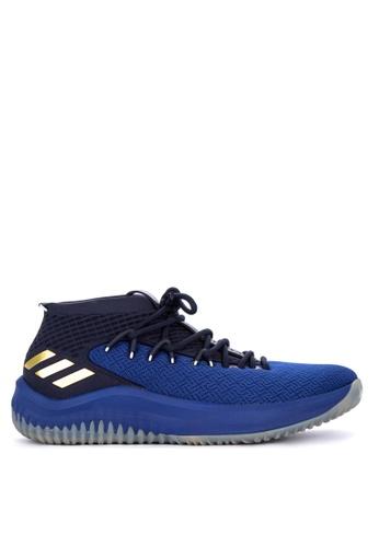 adidas navy adidas dame 4 11706SH00E0C71GS_1