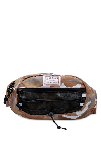 GUESS beige Expedition Bum Bag 56179AC97A312BGS_1