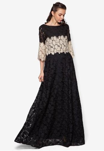 Double Layer Crochet Lace Dresprit 台中ess, 服飾, 洋裝