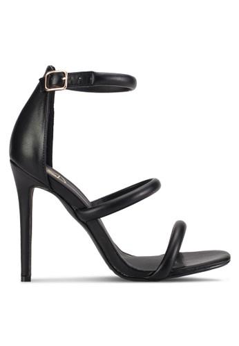 三圓esprit 會員鞋帶細高跟鞋, 女鞋, 鞋