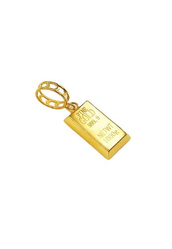 Arthesdam Jewellery Arthesdam Jewellery 916 Gold Bar Pendant/Charm - 1.4g 8E42AAC38646CCGS_1