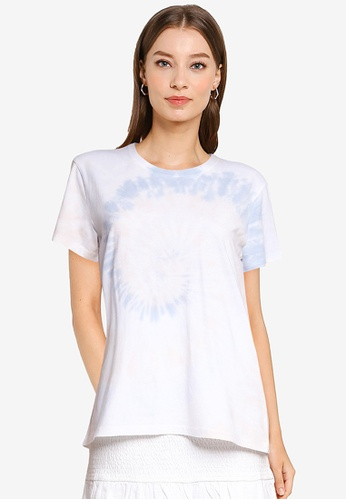 Abercrombie & Fitch blue Relaxed Tee 63E64AA6768E79GS_1