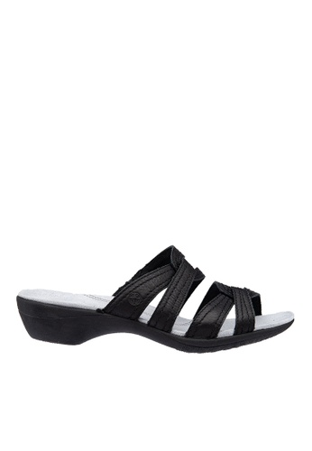 Hush Puppies black Hush Puppies Women's Dharma Wave Slide - Black D7FECSH3CBD833GS_1