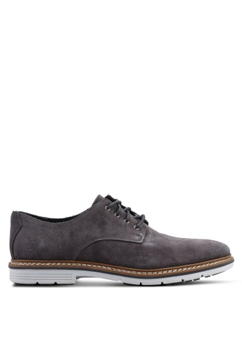 Timberland grey Naples Trail Oxford Shoes 9675CSHDA67B81GS_1
