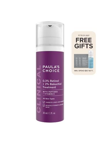 Paula's Choice purple Clinical 0.3% Retinol + 2% Bakuchiol Treatment 3DD2FBE6851989GS_1