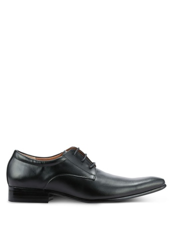 Frank Williams black Leather Dress Shoes FR169SH0RE6DMY_1