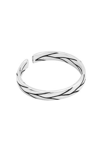 LYCKA silver LDR1348 S925 Silver Vintage Grunge Ring 5BD18AC838FC14GS_1