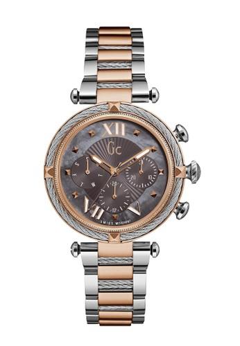 GC Watch gold and silver Gc jam Tangan Wanita CableChic Y16015L5 005B4AC8CA371CGS_1