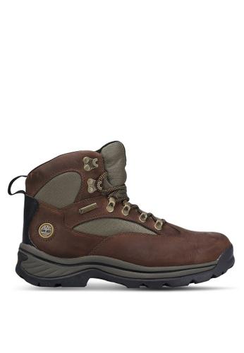 Timberland brown Chocorua Trail Mid Gore-Tex Boots TI063SH0RP6TMY_1