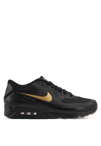 Nike black and gold Men's Air Max 90 Ultra 2.0 Essential Shoes NI126SH0STQXMY_1